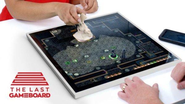 画像1: ボードゲーム専用タブレット機「Gameboard-1」特急便 (1)