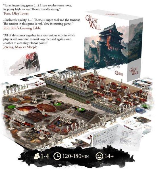 画像1: ボードゲーム「Great Wall Board Game」ドラゴンお得価格 (1)