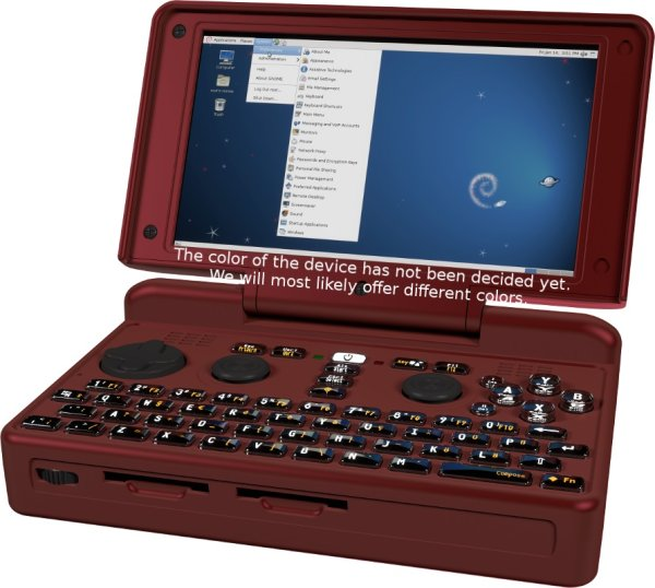 画像1: Linux搭載ゲーミングUMPC「DragonBox Pyra」特急便 (1)