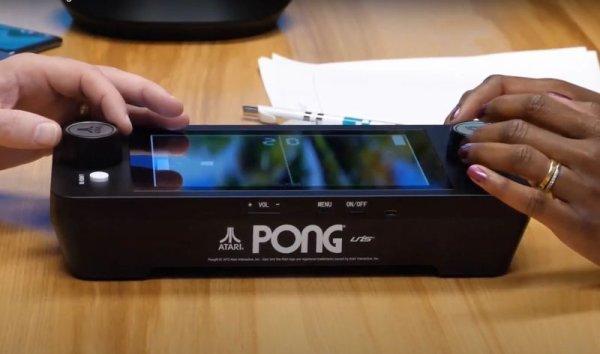 画像1: Atari Mini PONG Jr.お得価格 (1)