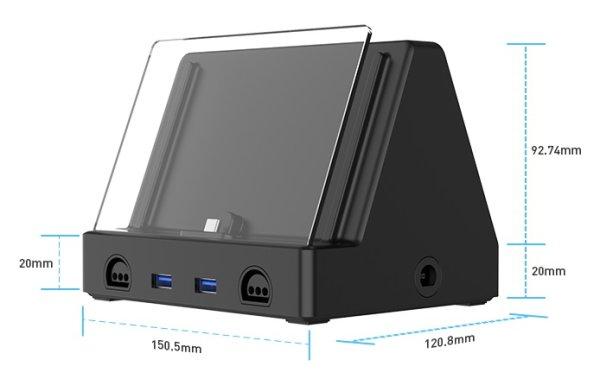 画像1: Androidゲーミング携帯PC「AYN Odin」専用ドック単体 (1)